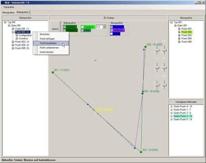 VMT MMI measurement path editor