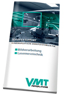 Download VMT Vision Machine Technic Bildverarbeitungssysteme GmbH Service Flyer