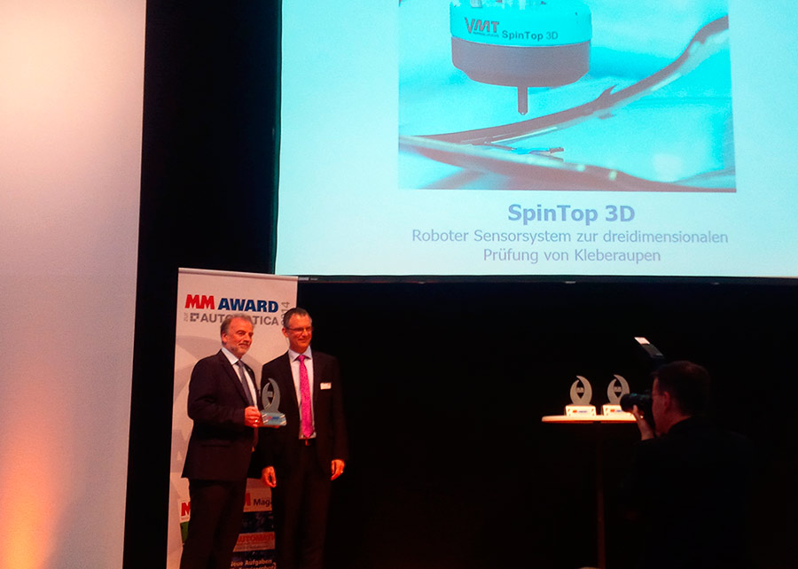 MM AWARD 2014 VMT TopSpin 3D